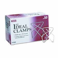 Ideal Clamps, 50/Box (Set of 3)