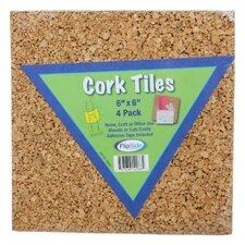Cork Tiles (Set of 4)