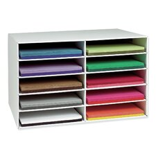 Construction Paper Storage Shelving Unit