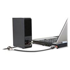 Kensington Clicksafe Keyed Twin Laptop Lock