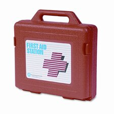 First Aid Kit for 50 People, 141 Pieces, OSHA/ANSI Compliant, Plastic Case