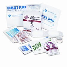 First Aid Refill Pack with Most Frequently-Used Products, 94 Pieces/pack