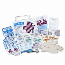 First Aid Kit for 50 People, 300 Pieces, Plastic Case