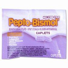 Pepto Bismol Tablets (25 Packs per Box)