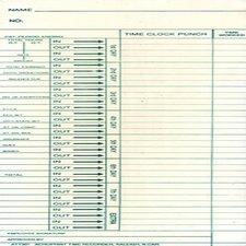 ATT301 OEM Time Card