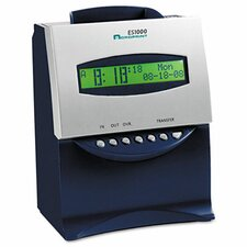 Es1000 Totalizing Digital Automatic Payroll Recorder/Time Clock