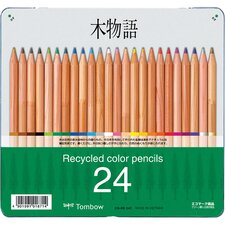 Recycled Colored Pencil (24 Pack)