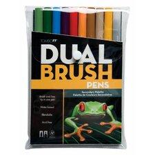 Dual Brush Secondary Pen (Set of 10)