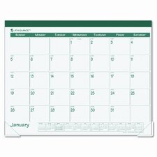 Fashion Color Monthly Desk Pad Calendar