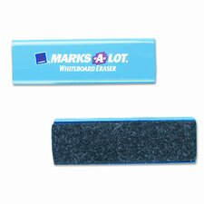 Marks-A-Lot Dry Erase Board Eraser, Felt (Set of 3)