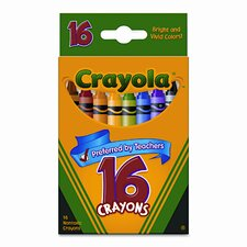 Classic Color Pack Crayons (16/Box) (Set of 4)