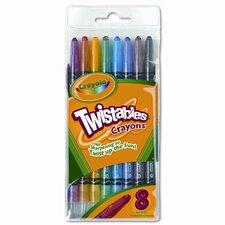 Twistable Crayons (8/Box) (Set of 2)