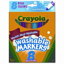 Washable Broad Point Markers (8/Set) (Set of 2)