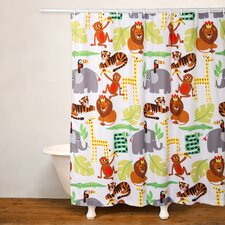 Jungle Love Shower Curtain