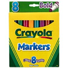Coloring Marker Bold Conical 8pk (Set of 3)