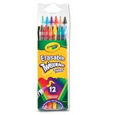 Twistables Erasable Colored Pencils (12/Pack)