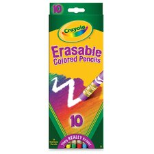 Erasable Color Pencils (Set of 20)