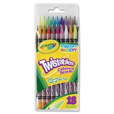 Twistables Colored Pencils (Set of 18)