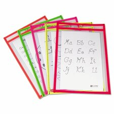 Reusable Dry Erase Pocket Flash Cards
