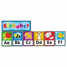 Quick Stick Bulletin Board Alphabet Letters Set