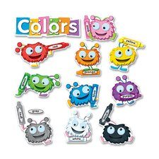 Color Critters Bulletin Board Cut Out Set