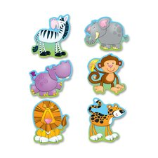 Jungle Animals Die-Cut Shapes Bulletin Board Cut Out