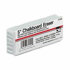 5-Inch Chalkboard Eraser, Wool Felt (Set of 5)