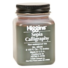 Non-Waterproof Sepia Calligraphy Ink (Set of 3)
