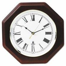 Octagon Quartz Wall Clock