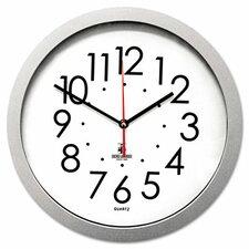 "Flat Rim 11.5"" Wall Clock"