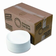 Paper Plates, 4 Packs of 250/Carton