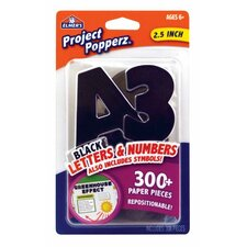 Project Count Popperz Letters, Numbers and Symbols