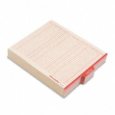 "Outguides, Red Center ""Out"" Tab, Letter, 100/Box"