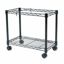 High-Capacity Rolling File Cart