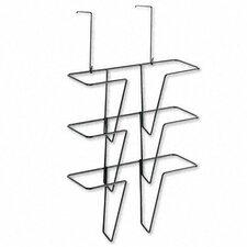 Wire Partition Additions Three-Pocket Organizer
