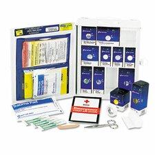 Medium First Aid Kit, 112 Pieces, Osha Compliant, Metal Case