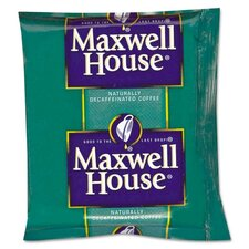 Maxwell House Coffee, Original Roast Decaf, 1.1 Oz Pack, 42/Carton