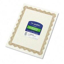 Parchment Paper Certificate (Set of 2)