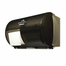 Compact Coreless Double Roll Tissue Dispenser