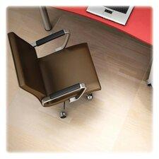 Polycarbonate Hard Floor Straight Edge Chair Mat