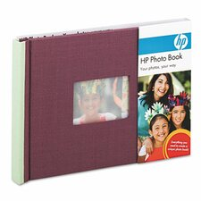 Expandable Photo Book, 25 Pages, 5 1/2 x 7 1/2, Indigo/Sky, Cloth Cover