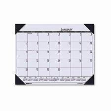 EcoTones Sunrise Rose Monthly Desk Pad Calendar