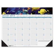 Eco Friendly Sea Life Desk Pad Calendar