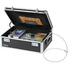 Vaultz Locking Storage Chest with Tether