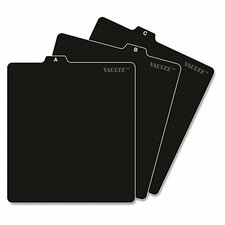 Vaultz A to Z CD and DVD Storage File Guides