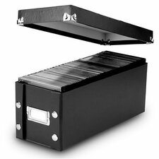 Snap-N-Store CD Storage Boxes (Set of 2)