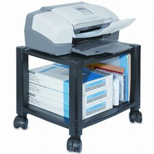 Two-Shelf Mobile Printer Stand