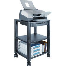 Three-Shelf Mobile Printer Stand