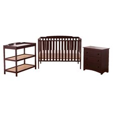 Turin 3 Piece Nursery in Combo Box Set