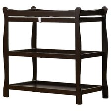 Sleigh Style Baby Changing Table
